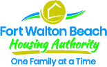 Fort Walton Beach Housing Authority Logo with Slogan